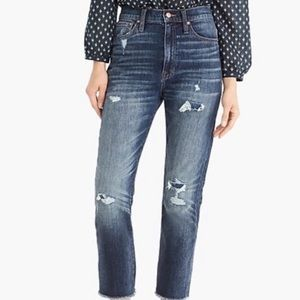 NWT J CREW MADEWELL POINT SUR denim